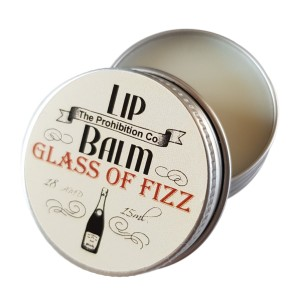 The Prohibition Co Lip Balm Glass of Fizz wino musujące, 15 ml