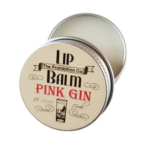 The Prohibition Co. Lip Balm Pink Gin, Balsam do ust 15ML