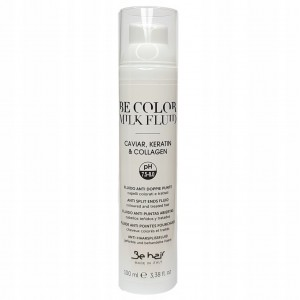 BE COLOR MILK FLUID 100ml NA KOŃCÓWKI, WYGŁADZA