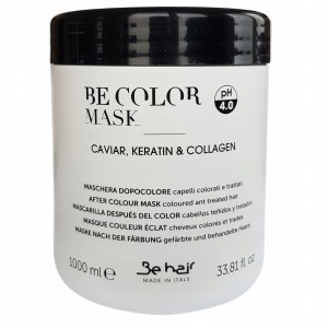 BE COLOR MASKA DO WŁOSÓW KAWIOR KERATYNA 1000 ml