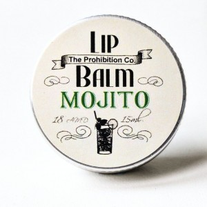 The Prohibition Co. Lip Balm Mojito, balsam do ust o smaku Mojito 15ml