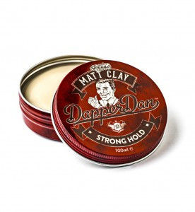 Dapper Dan Matt Clay Strong Hold glinka matująca mocna 100ml