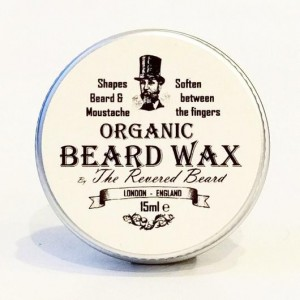 The Revered Beard Organic Wax organiczny wosk do brody 15ml