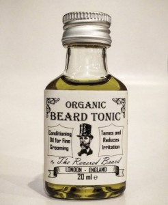 The Revered Beard Organic Tonic olejek do brody 20ml