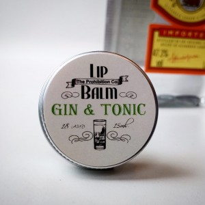 The Prohibition Co. Lip Balm Gin&Tonic, balsam do ust o smaku Ginu z tonikiem 15ml